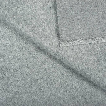 Coat fabric - DARK GREY