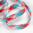 MULTICOLOR Flachkordel 10 mm ROT/BLAU