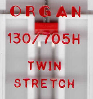 ORGAN - double TWIN STRETCH 1 pc. / thickness 75