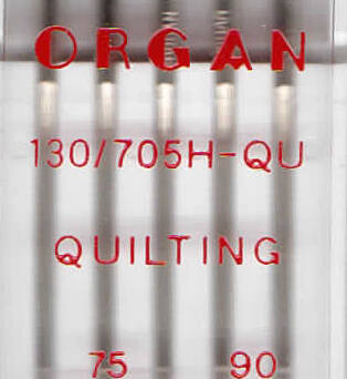 ORGAN -  Nadel QUILTING  5 Stk. MIX / Dicke 75, 90
