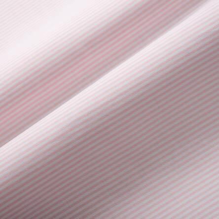 69a655fc8f0116 Tkanina bawełniana elastyczna -paseczki pastel róż