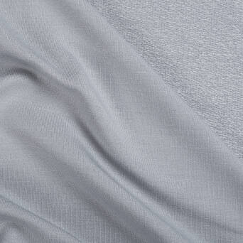 Viscose French Terry ASHEN / light GREY 300g