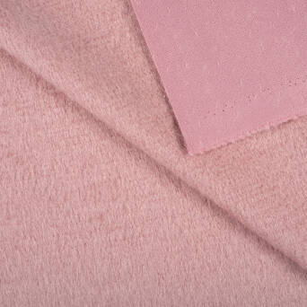 Coat fabric - DUSTY PINK
