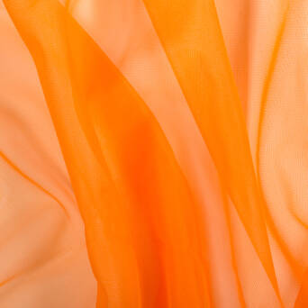 Chiffon-Tüll  - ORANGE 1601