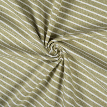 A0720-2 #07 Jersey light khaki stripes with green tips