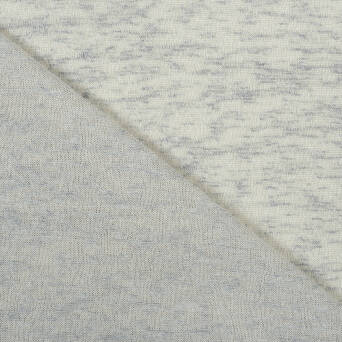Sweater fabric light GREY - 150g
