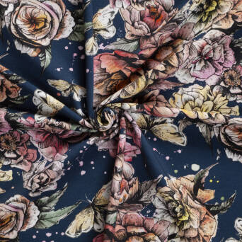 Peonies Night Jersey 200g