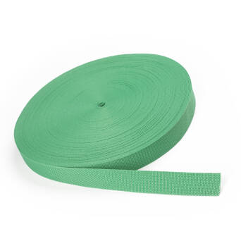 Backing tape - 30 mm LIGHT GREEN