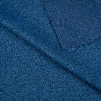 Coat fabric - INDIGO