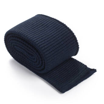 Folded ribbing RETRO NAVY BLUE