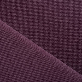 GENOA knitted fabric 250g - PLUM WINE