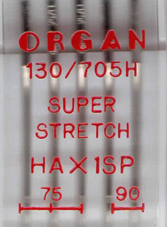 ORGAN - SUPER STRETCH HAX1SP  5 Stk / Dicke 75, 90