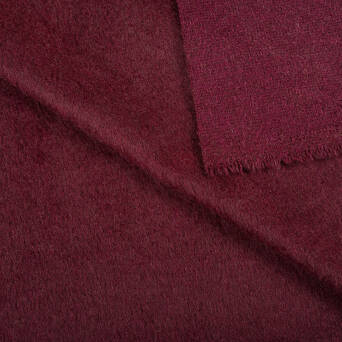 Coat fabric - MAROON